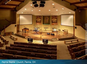 Parma Baptist Seating